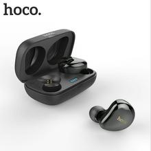 HOCO Wireless Bluetooth Earphone 5.0 CSR Twins Headsets A2DP Avrcp Stereo Sound Handsfree TWS Earbuds With Power Box