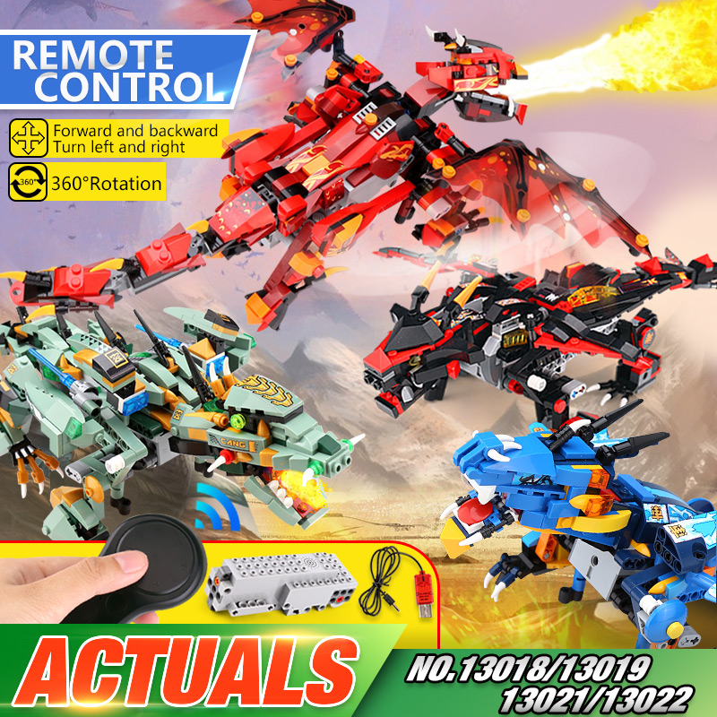 Yeshin Technic Toys 06051 Compatible With Legoing <font><b>70612</b></font> Mecha Dragon Set Building Blocks Bricks Kids Christmas Gifts Toys Model image