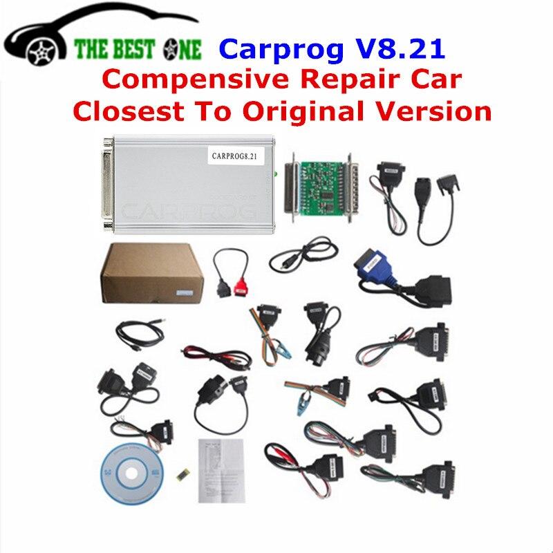 Цена за Идеальный интернет-программирования Функция CARPROG V8.21 и V9.31 новая версия автомобиля прог полный набор с более авторизации инструмент автоматического ремонта