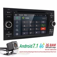 2 Din Android 5 1 DAB Car DVD Player In Dash For Ford Transit Focus Connect