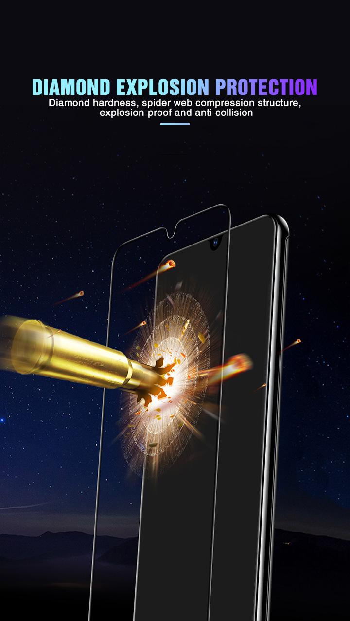 6D vidrio templado para Samsung Galaxy 3