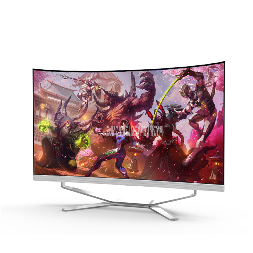 KH20B Ultra-thin 24 Inch IPS Curved Display Screen A8 Four Core CPU 240G SSD 8G Memory 2GB VRAM Mini PC All-In-One Computer