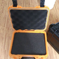 Tool case toolbox suitcase Impact resistant sealed waterproof plastic case equipment box camera case Meter box with pre cut foam