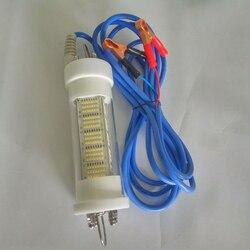 140W 5M cable DC12V atenuación pesca LED lámparas que atraen la iluminación de los peces