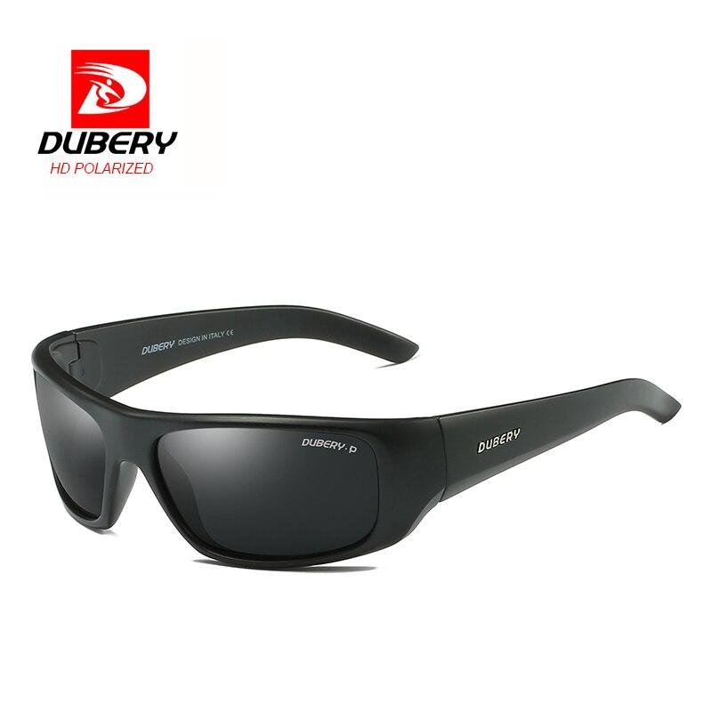 DUBERY 2018 dos homens Óculos Polarizados Condução Tons de Aviação  Masculino Homens Óculos de Sol Retros Do Esporte de Luxo Da Marca Designer  Oculos em ... ccedbd7c2b