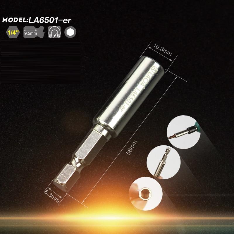 LAOA Alta qualità 5 dimensioni Presa prolunga magnetica 1/4 Prolunga - Utensili manuali - Fotografia 6