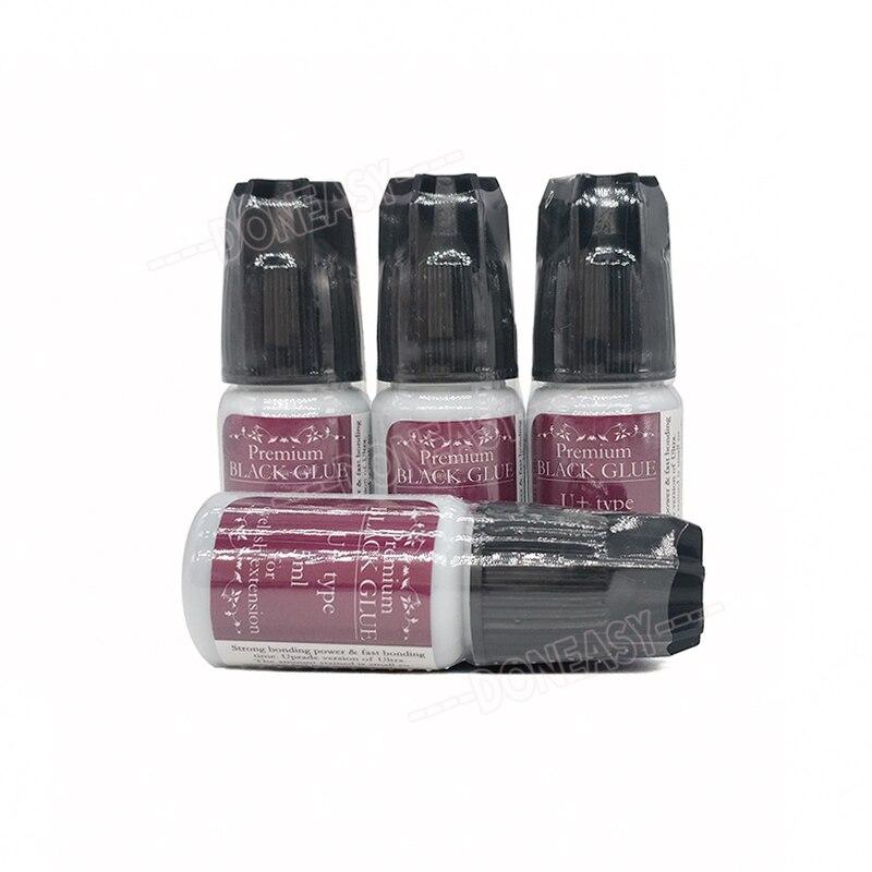 5ml U type Fast dry Low odor lash glue eyelash glue made in Korea for eyelash
