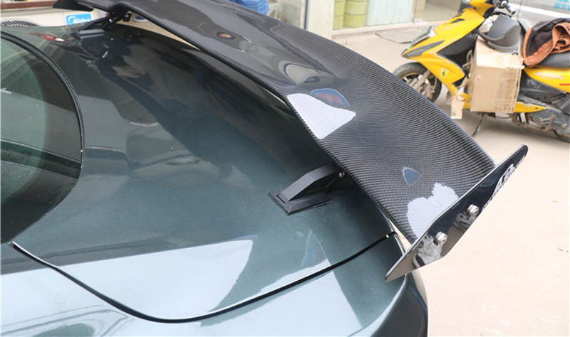 High Quality 100 Carbon Fiber Rear Trunk Spoiler Fit For Ford Mustang 2015 2016 2017 2018 APR Style in Spoilers Wings from Automobiles Motorcycles