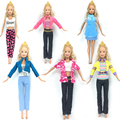 NK Doll New Fashion Wear Set Stylish Outfits Casual Clothes for Barbie Doll Wholesale