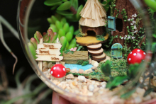 Studio Ghibli My Neighbor Totoro – Miniatuart Home Decor Totoro Set