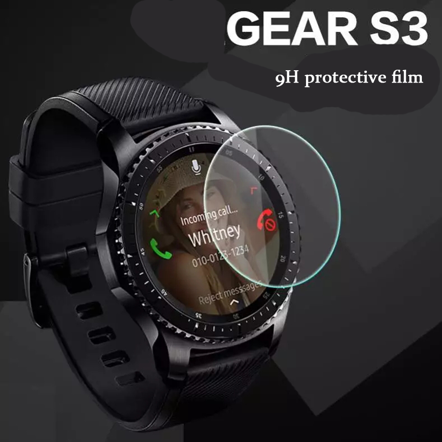 9H 2.5D Tempered Screen Protector Glass For Samsung Gear S3 Classic Frontier Smart Watch Toughened Protective Film