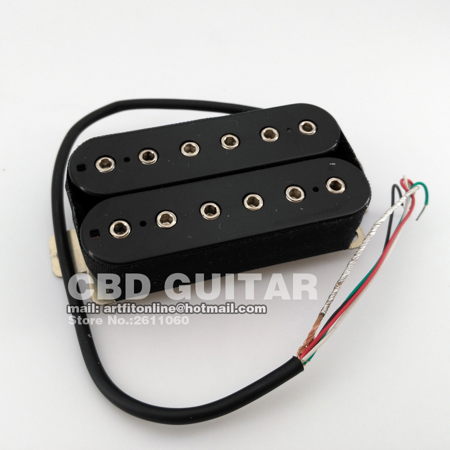 One Set 4 wires coils split Humbucker Bridge and Neck Electric ...