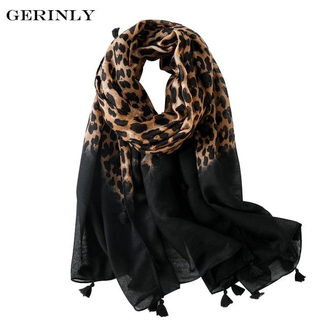 9c98464f992 Sexy Leopard Print Scarf Women Luxury Designer Long Scarves and Shawls  Autumn Winter Blanket Scarfs Muffler
