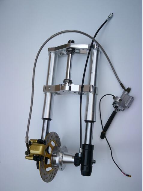 Новая версия Updown передняя вилка для обезьяны вилка длина 540 мм золото серебро