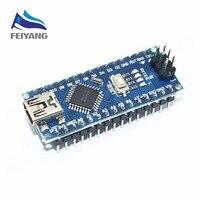 Nano Mini-USB С загрузчика Совместимость Nano 3,0 контроллер CH340 драйвер USB 16 мГц Nano v3.0 ATMEGA328P для arduino