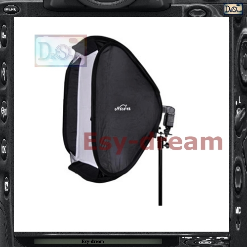50*50 Photo Studio Square Foldable Softbox Soft Box For Canon Nikon Metz Nissin Yongnuo Flash Speedlite PS105 metz planea 55 uhd
