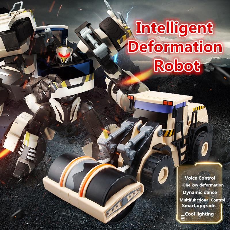 New boy toy gift Jia Qi Smart transform shape RC Truck 2 4G one key deformation