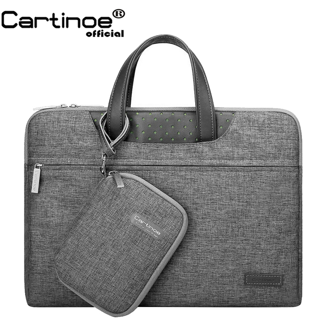 Business Briefacse 12 13 14 15.6 inch Laptop Bag Men Women Handbag Protective Sleeve Carrying Case for Macbook Pro Touch Bar 15
