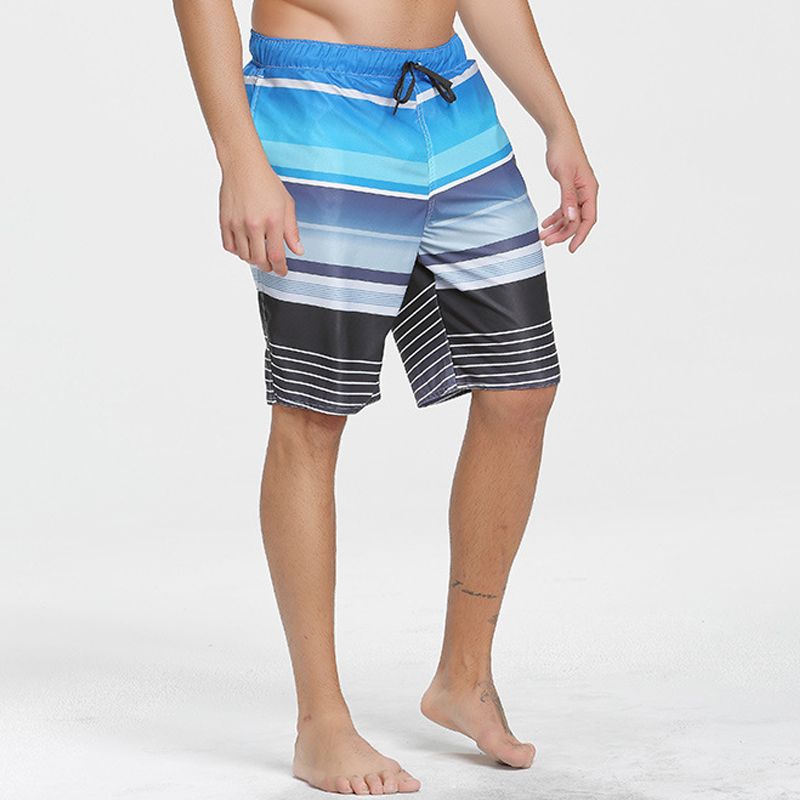 C185 New high quality summer leisure sports five points loose quick beach pants surf shorts Swimming pants men