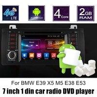 Quad Core Car DVD Android 6.0 For BMW E39 X5 M5 E38 E53 GPS Wifi 4G Bluetooth Radio RDS steering wheel control
