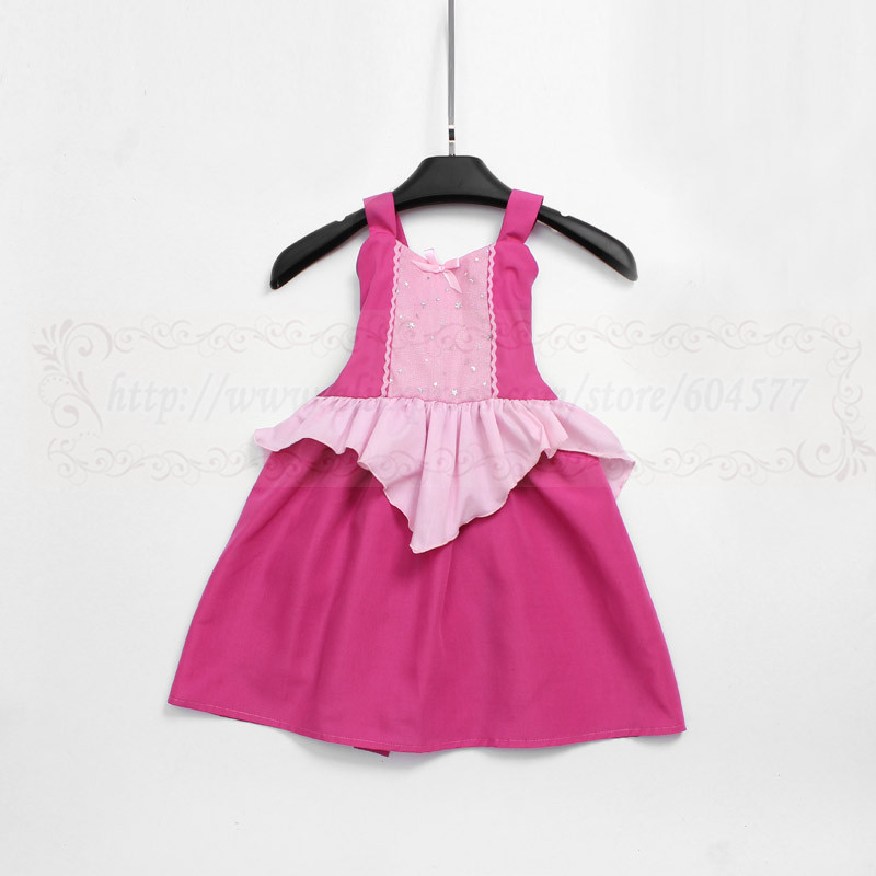 Sleeping girl Costume princess dress for vacation summer party comfortable