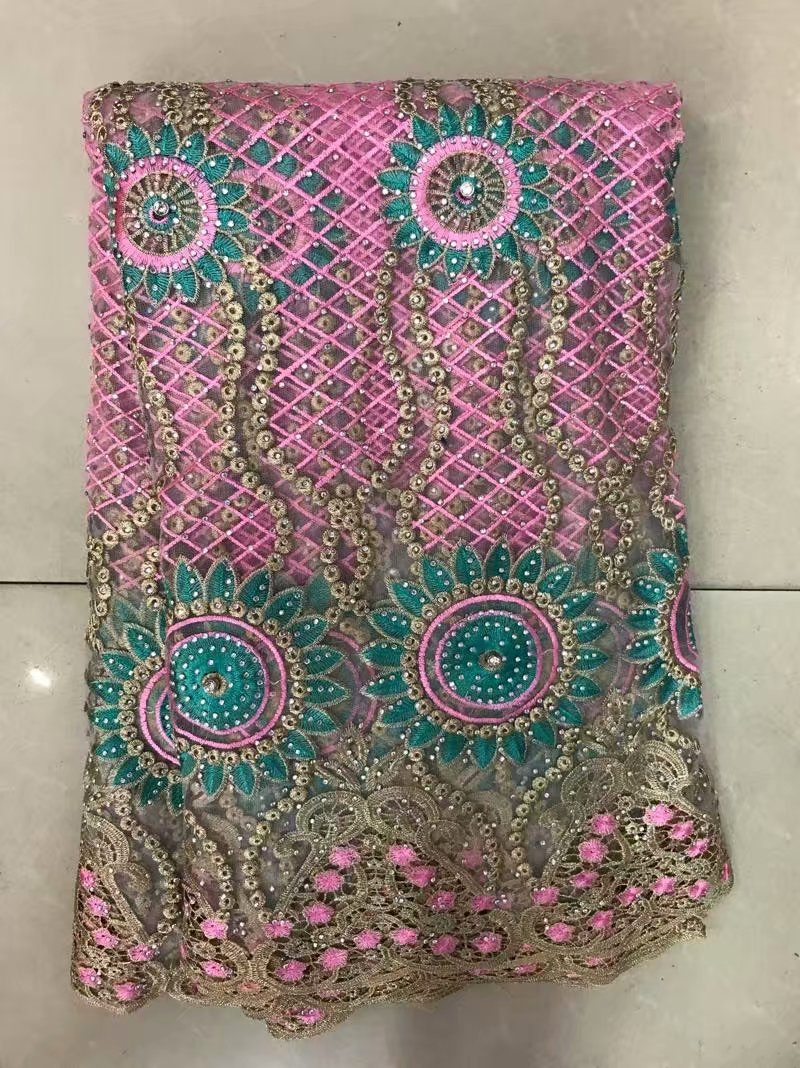 African Lace Fabric 2018 High Quality Nigerian Lace Fabrics Beautiful Africain Guipure Embroidery French Tulle Lace