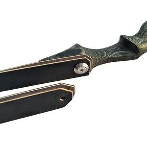 Image 3 - Охотничий лук, длинный, 60 дюймов, съемный, 30 60 фунтов, правая рука, деревянный Riser, изогнутый лук для арбалетов, лука, лук для стрельбы