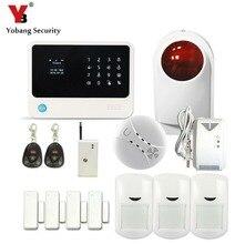 YobangSecurity WIFI Safety System Dwelling Alarm Safety System Android IOS APP Fuel Detector Smoke Sensor Wi-fi Flash Siren