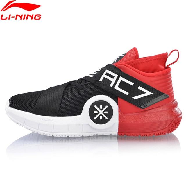 Li-Ning Мужская Спортивная обувь ALLCITY 7 Wade профессиональная обувь для баскетбола Подушка носимая подкладка облако Спортивная обувь Кроссовки ABAN047 XYL225