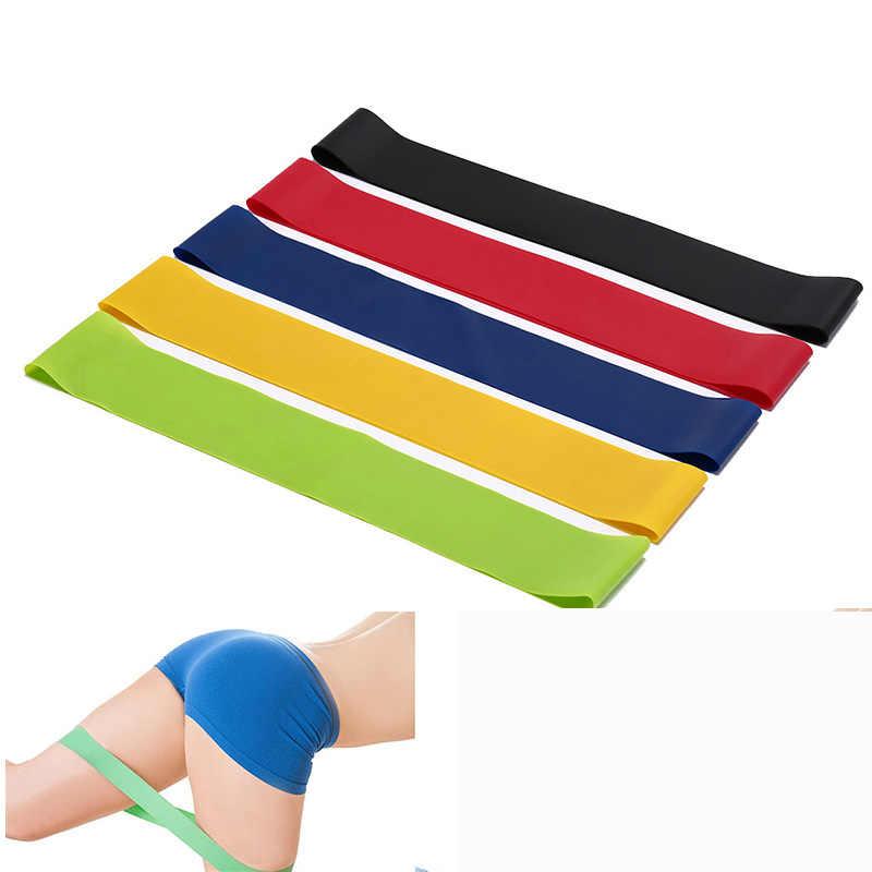 Nowy odporność zespoły gumka trening sprzęt Fitness gumki recepturki lateksowe joga siłownia trening siłowy sportowe opaski gumowe