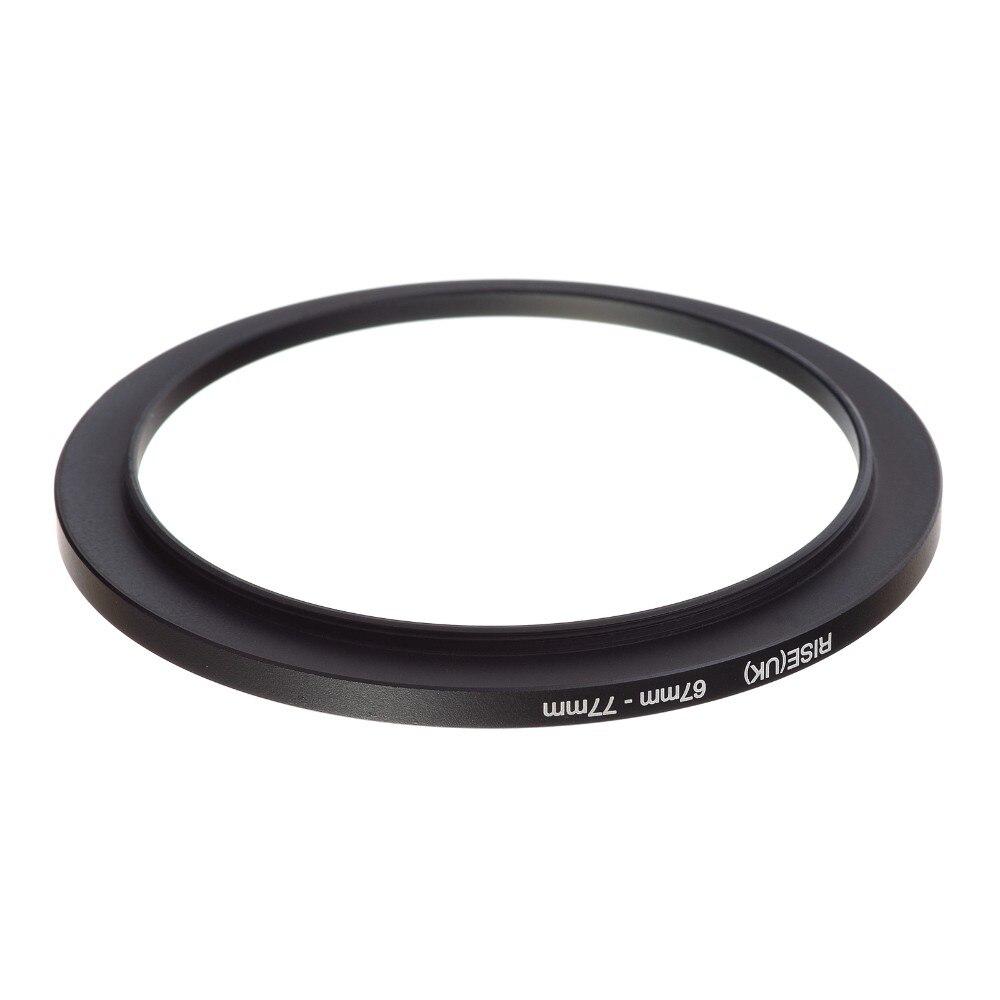 Anello adattatore per filtri da 67mm 77mm STEP-UP adapter stepup 67 77 mm 67-77