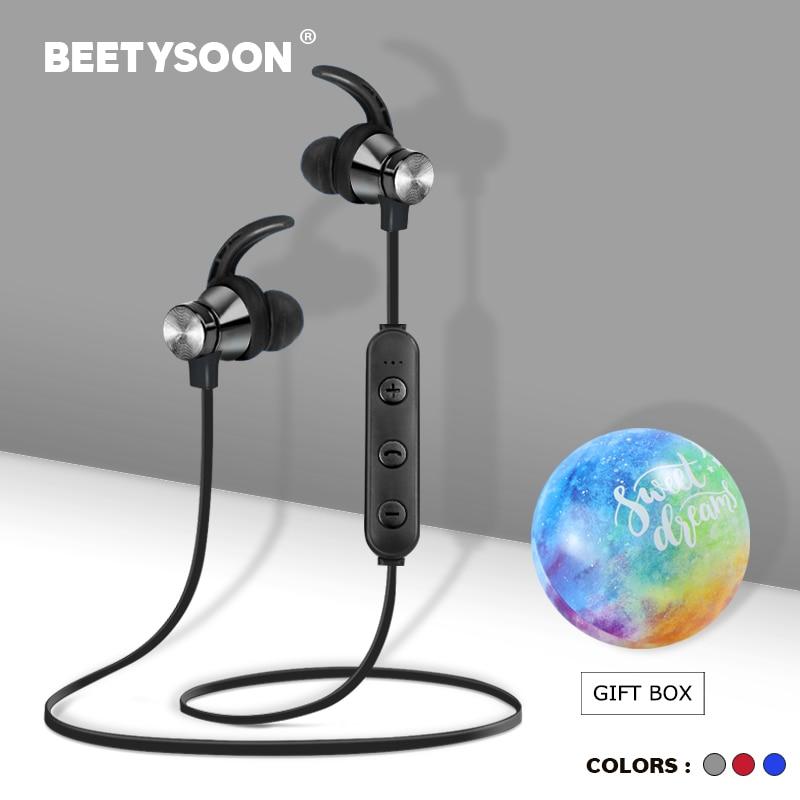 BEETYSOON ספורט אלחוטי אוזניות Bluetooth אוזניות אלחוטי אוזניות Bluetooth Audifonos אוזניות אוזן אוזניות