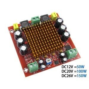 150 Вт TPA3116 моно канальный цифровой усилитель мощности аудио с преусилителем NE5532 класса D TPA3116D2 DC12-24V сабвуферный усилитель