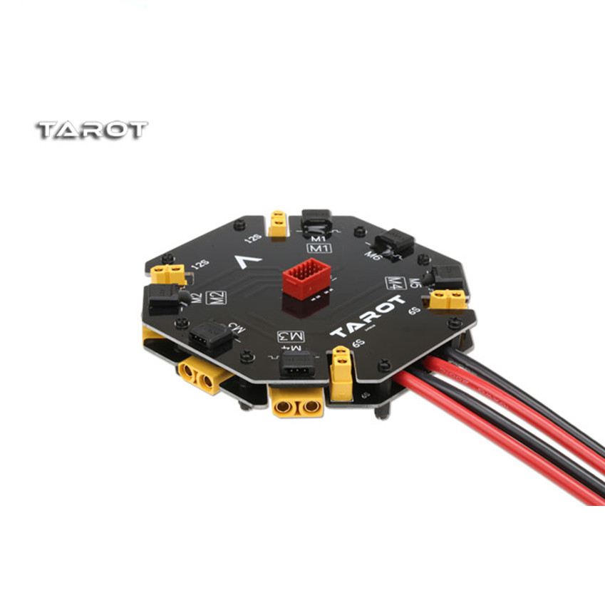 Tarot Power Distribution Management Board  Support 12S 480A High Current Distribution Model TL2996 for Helicopter Aerial distribution