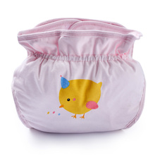 Dile Baby Washable Diapers Training Pants Infant Nappy Cloth Comfortable Cover Adjustable Spring Autumn  1-12m Reusable