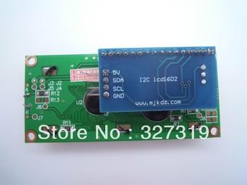 2x IIC/I2C/TWI/SPI serial interface board module 5v for Arduino 1602 lcd display цена 2017