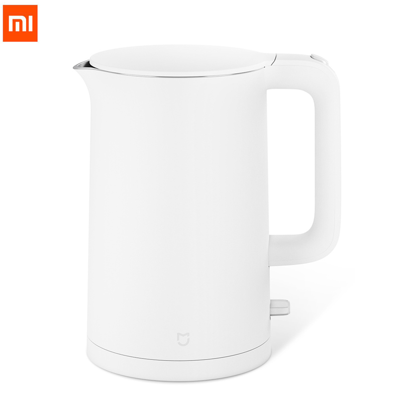 Black Friday Xiaomi Mijia Electric Kettle 1 5L Household 304 Stainless Steel Insulated Water Kettle Fast