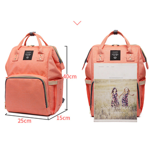 Image 2 - 여성 배낭 여성 대형 기저귀 배낭 멀티 포켓 다기능 엄마 배낭 여행 가방 엄마 기저귀 가방 SD 067