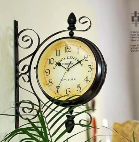 021077 Wooden Wall Clock 12 14 16 inch Modern Design owl times ...