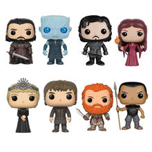 Game Of Thrones Jon Snow Night Re Cersel Lannister Melisandre Grigio A Vite Senza Fine Bran Stark Action Figure giocattoli di Modello Regalo Bambola(China)