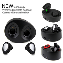Daono Bluetooth Earphones TWS K2 Earbuds Mini Wireless Headphones with Charging Socket Stereo Music Headset With Microphone
