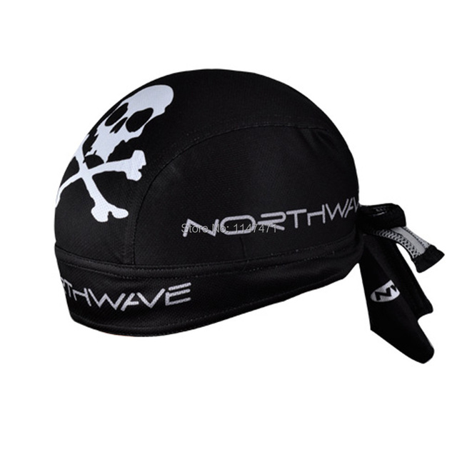67feb903531bf New Quick Drying Ciclismo Bike Scarf Cycling Cap Head Wear Skeleton Bone  Hat Kerchief Bicycle Bandana Pirate Livestrong Hat Caps