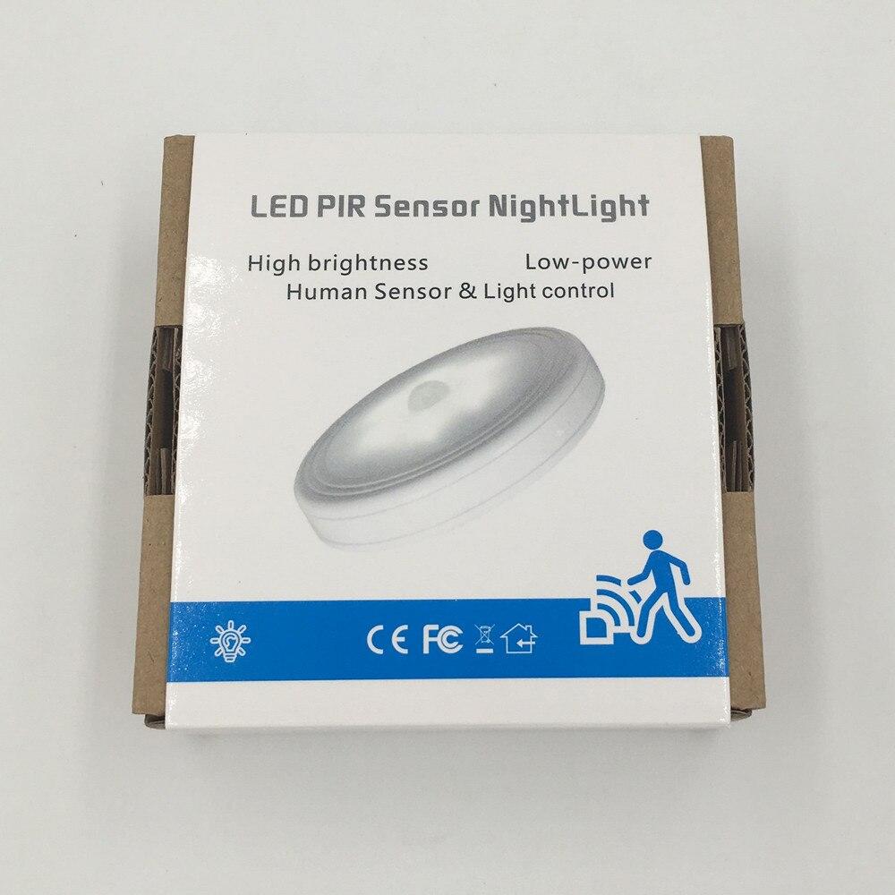 Luzes da Noite poupança de energia da iluminação Feature : Magnetic Motion Sensor Led Light
