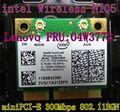 Intel 105 N105 rede N sem fio wifi mini pcie metade cartão fru : 04w3772 de M92SZ borda 72