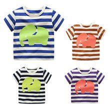 Children s T shirt Boys T-shirt Baby Clothing Little Boy Summer Shirt Tees  Designer Cotton d706659f2270