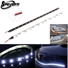 SPEVERT Car Light 30cm 15 SMD 3528 Waterproof Flexible LED Strip 30cm Length Car Strip