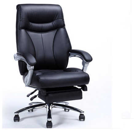 High Quality Thicken Cushion Soft Office Chair Leisure Lying Lifting Computer Chair Swivel Meeting Boss Chair With Footrest