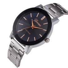 Casual Males Business women Men Watches 2017 brand high quality Wrist watches Stainless Steel Relogio Masculino Bracelet clock