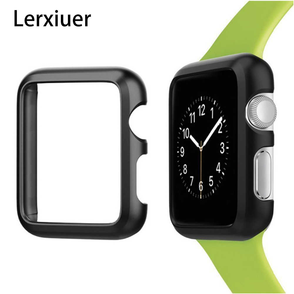 Cover For Apple Watch case apple watch 4 3 5 2 iwatch 42mm 38mm 44mm 40mm metal frame screen protector shell bumper Accessories