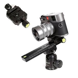 Image 2 - XILETU Kit de placa de liberación rápida LSB 18B, Riel de trípode de diapositivas Nodal de 180mm, accesorio de fotografía Universal multifuncional